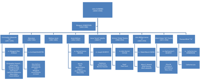 John Fleming Family Tree