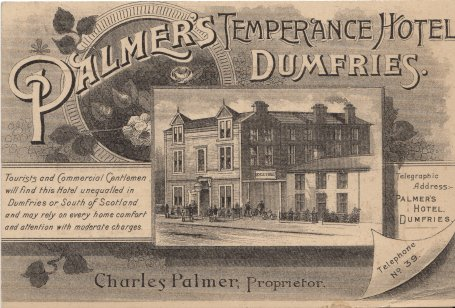 Palmer's Temperance Hotel, Dumfries