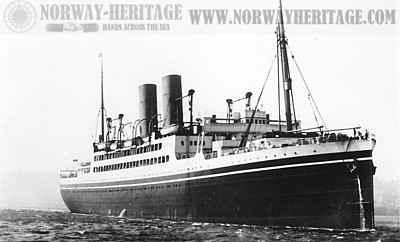 S.S. Melita,  Canadian Pacific Steamship / Liner. Source: Norway Heritage (norwayheritage.com)